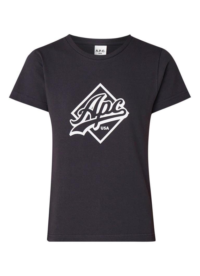 A.P.C. Althea T-shirt met logoprint