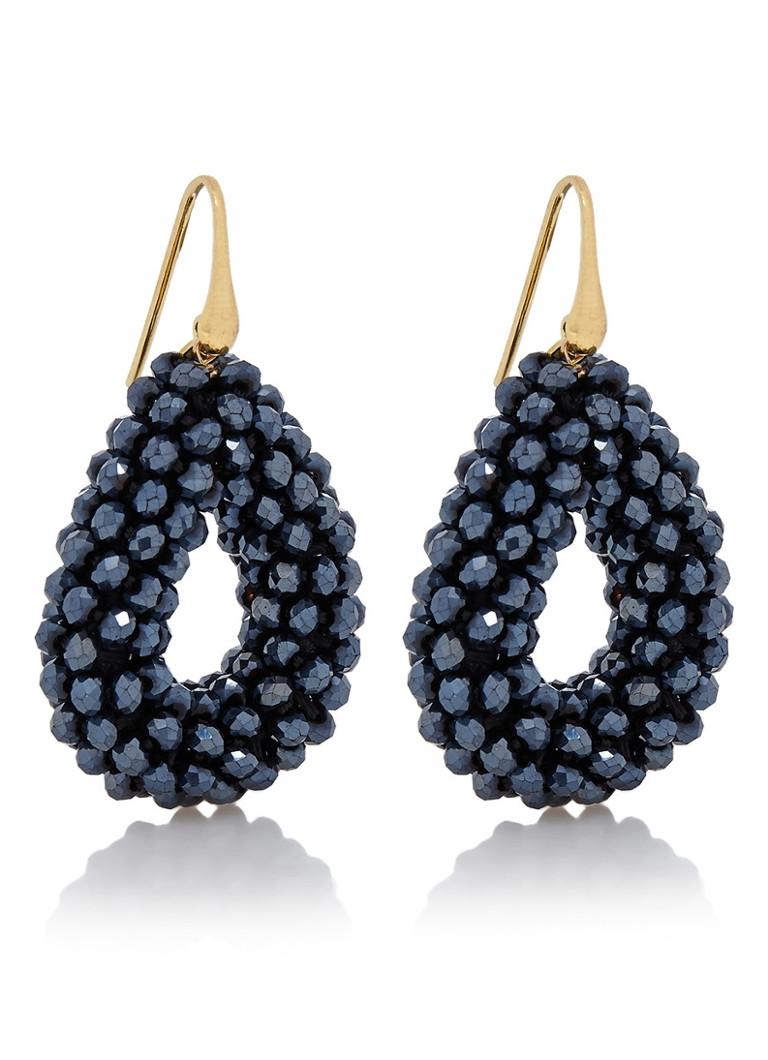 LOTT  gioielli Glassberry Drop Small oorhangers met glaskralen