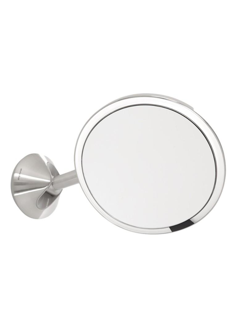 Simplehuman Sensor cosmeticaspiegel met LED 23 x 23 cm