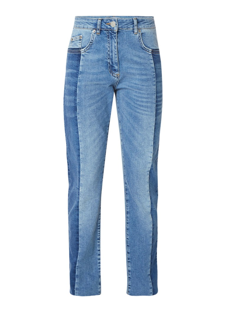 Second Female High rise straight fit jeans van denim