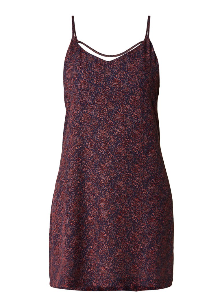 Another-Label Bergen slipdress met rugdecolleté rood
