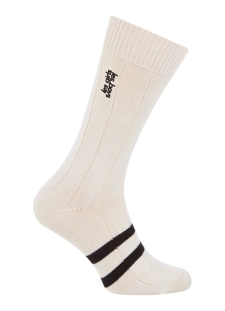 Les Girls Les Boys Classic sokken van katoen ecru