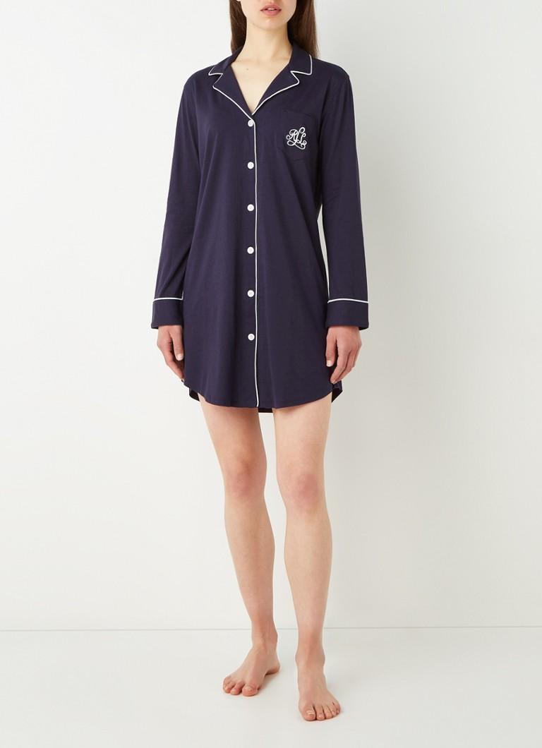 Ralph Lauren Nachthemd met logoborduring