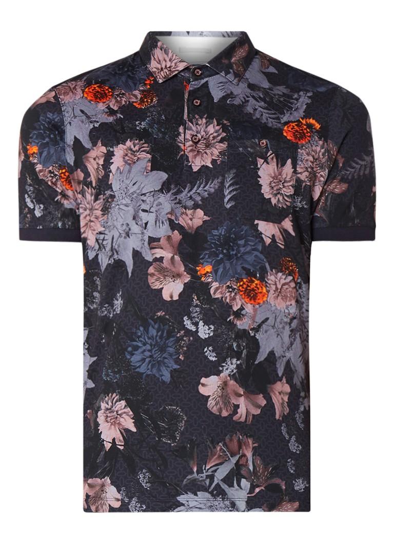 Image of Ted Baker Amir polo met allover bloemenprint