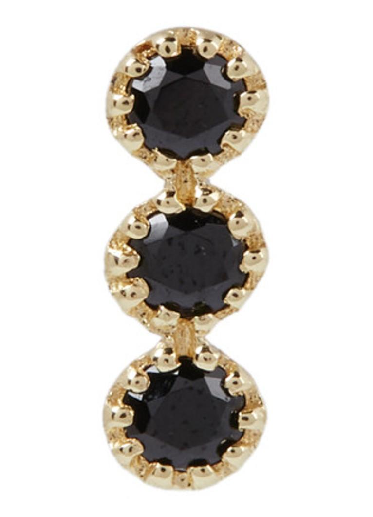 Aynur Abbott Bouquet enkele oorsteker met diamanten