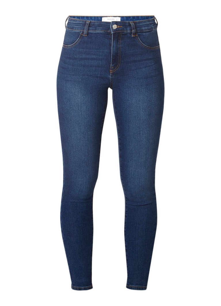 MANGO Jane mid rise skinny fit jeans met medium wash