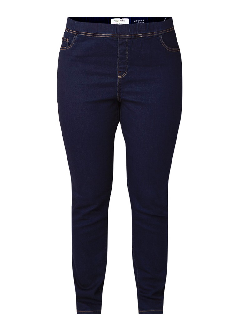 MANGO Massha high rise skinny fit jegging in stretch denim