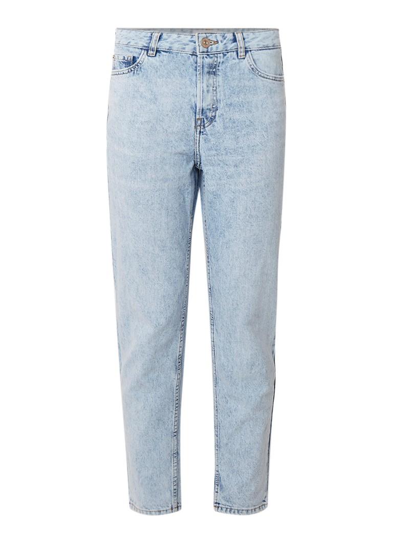 MANGO Mom jeans in lichte wassing