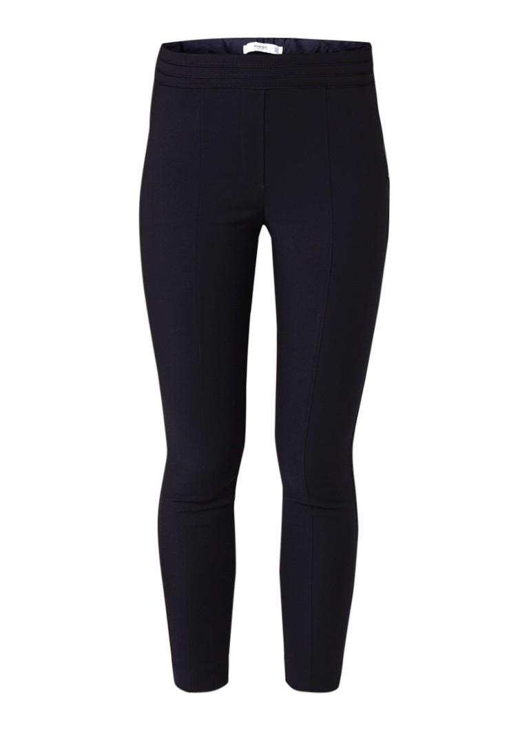 MANGO Avanti skinny fit pantalon met elastische taille