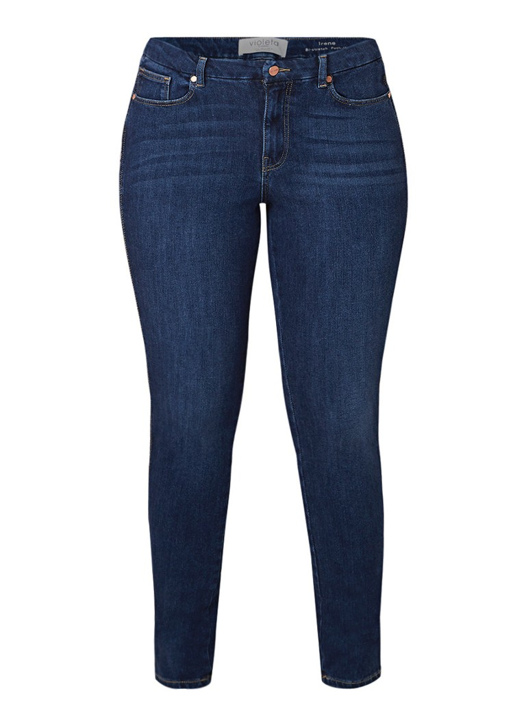 MANGO Irene low rise skinny fit jeans met stretch