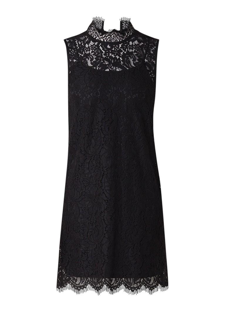 Mango Kovsky mouwloze jurk van kant zwart