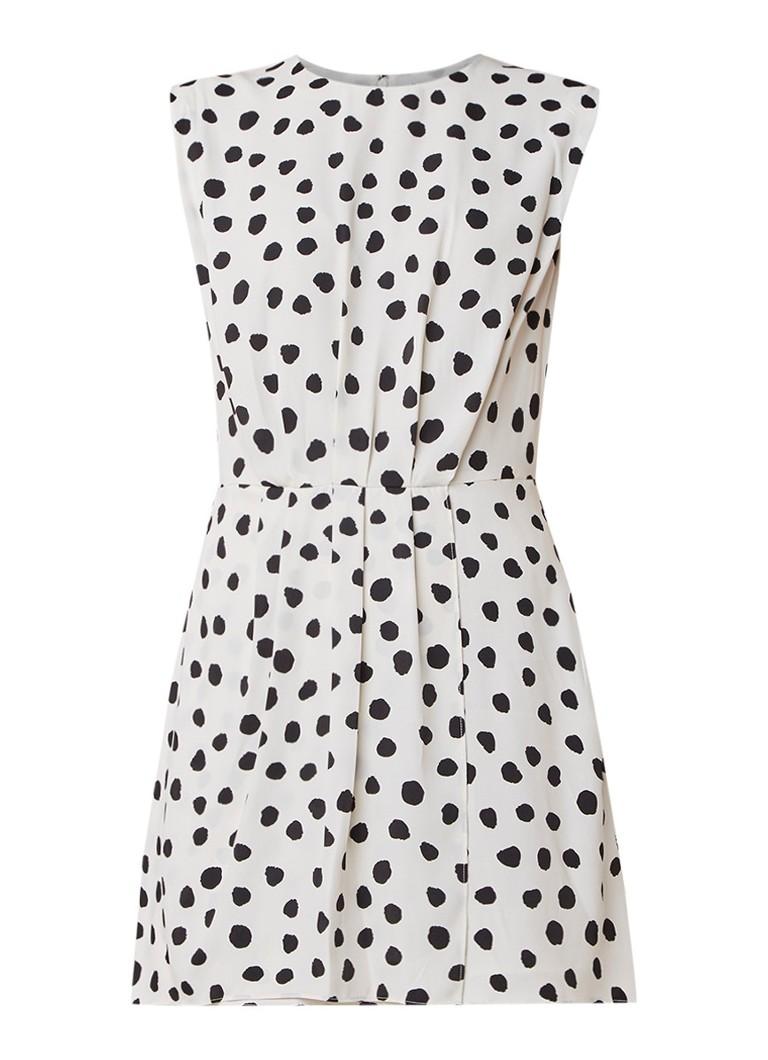 Mango Nora min- jurk met stippendessin kit