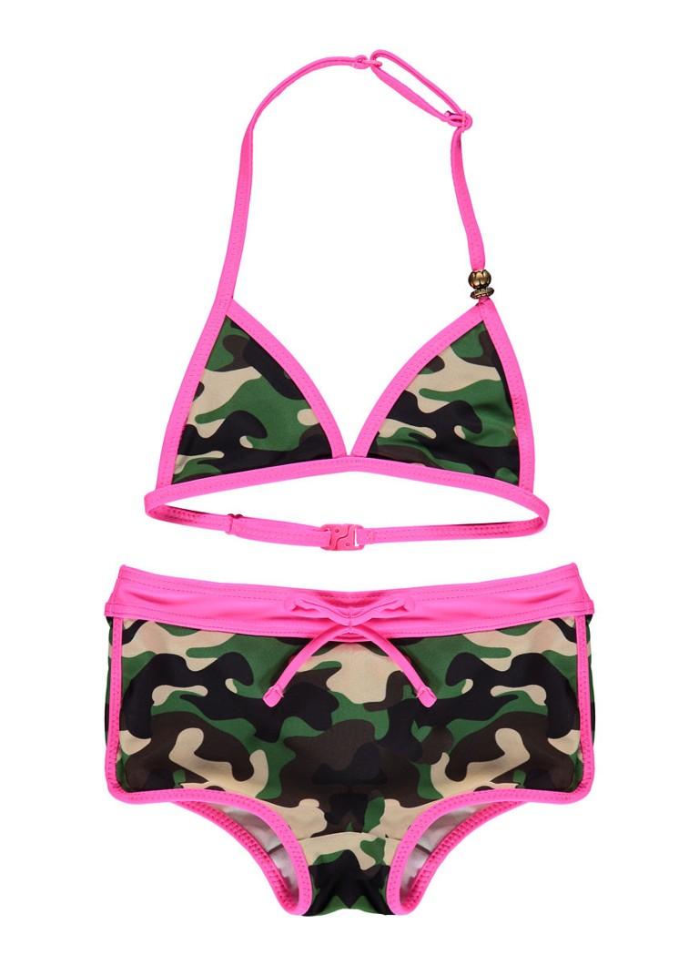 WE Fashion Bikini met camouflageprint