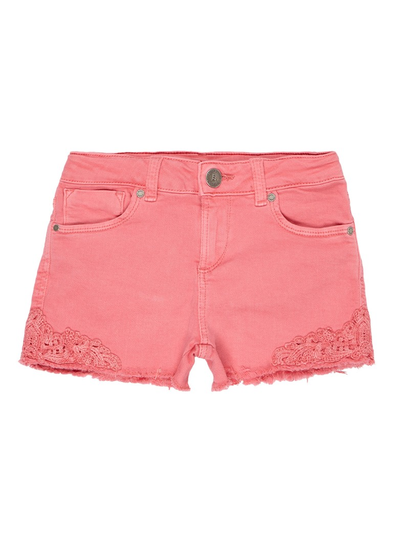 WE Fashion Lace Peggy shorts met