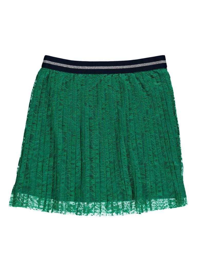 WE Fashion Agila rok van kant en elastische tailleband