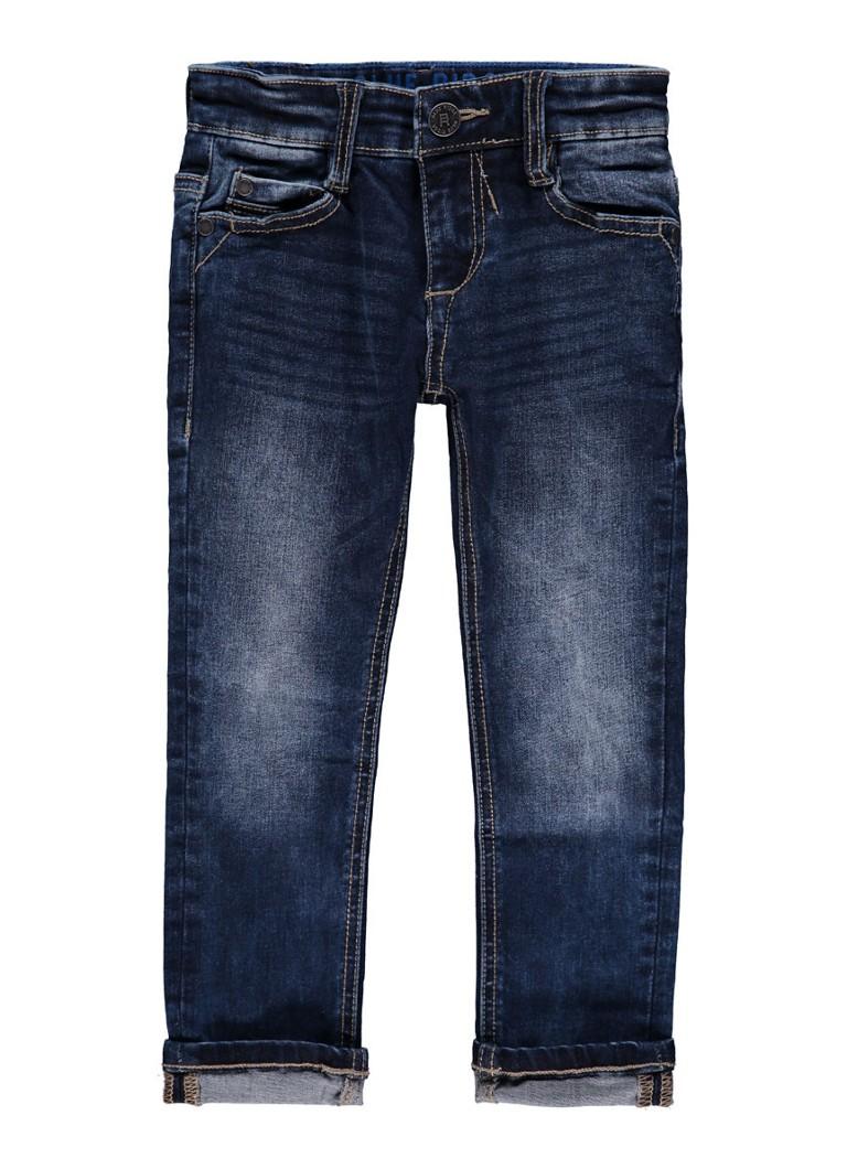 WE Fashion Super skinny fit jeans met medium wassing