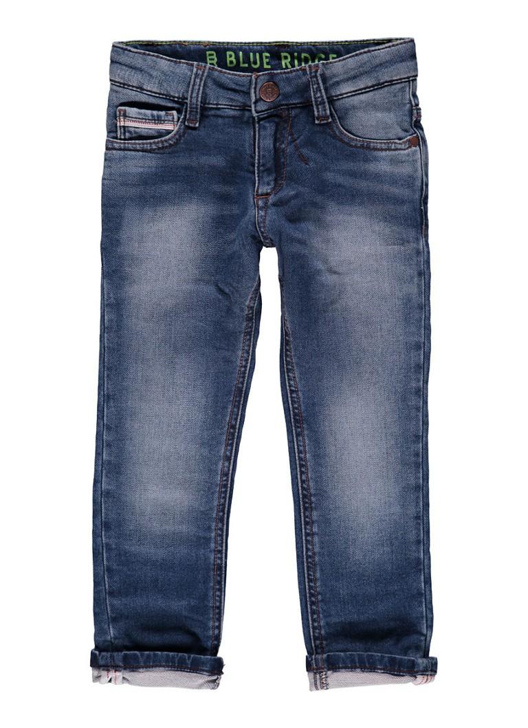 WE Fashion Skinny fit jeans met lichte wassing