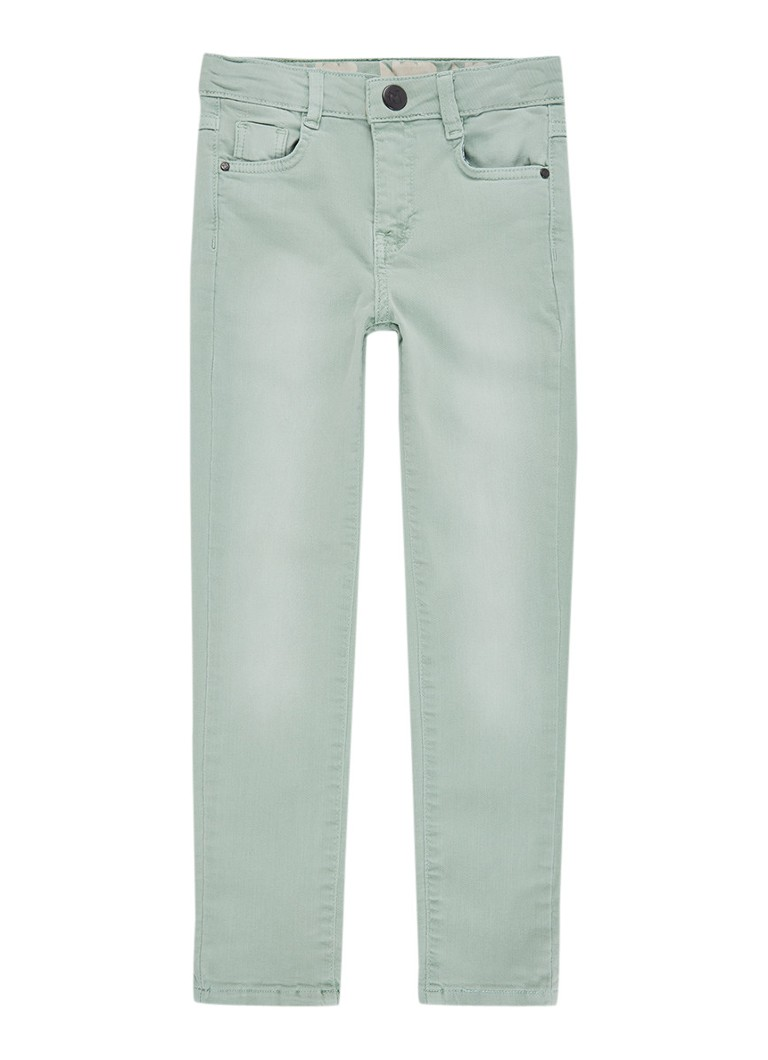 Noppies London slim fit jeans in gekleurde wassing