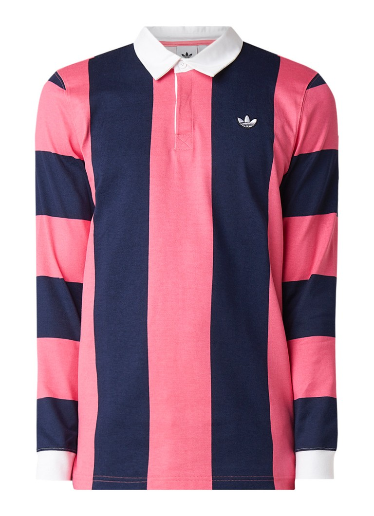adidas Rugby polo met lange mouw