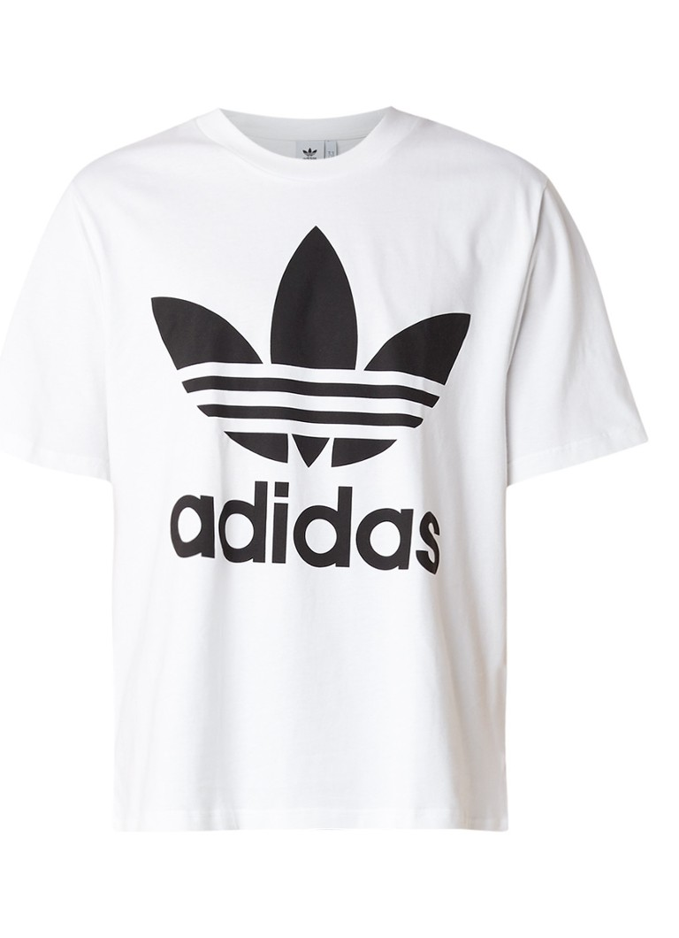adidas Oversized T-shirt met logoprint