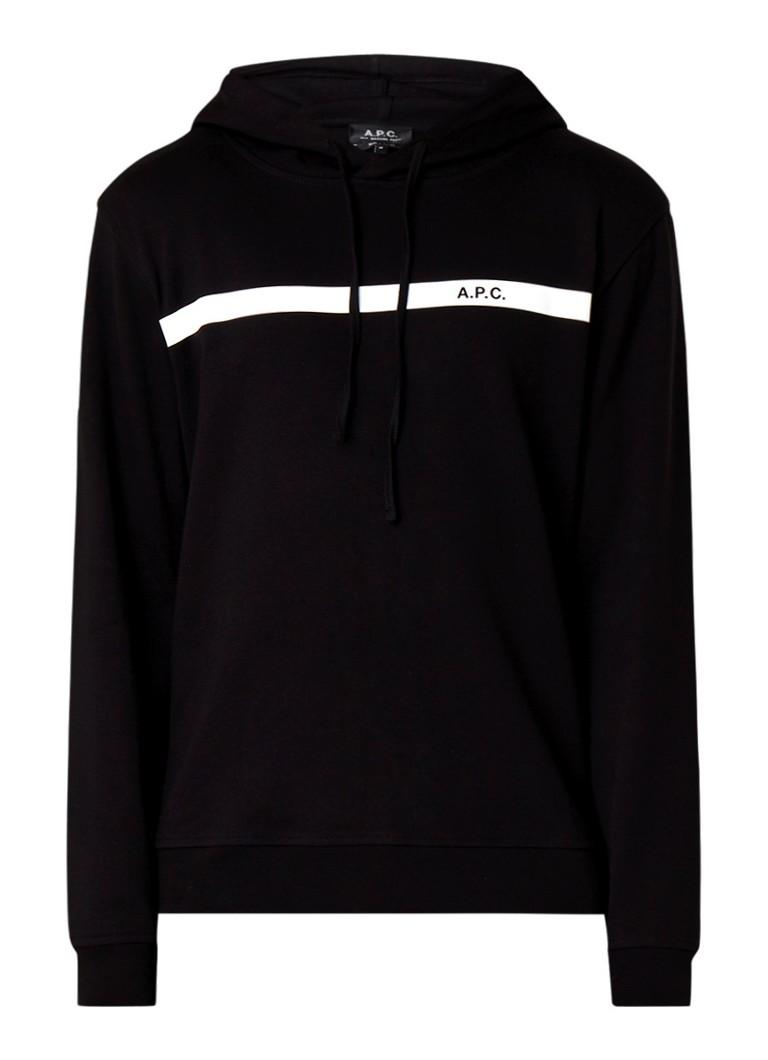 A.P.C. Caserne hoodie met logoprint