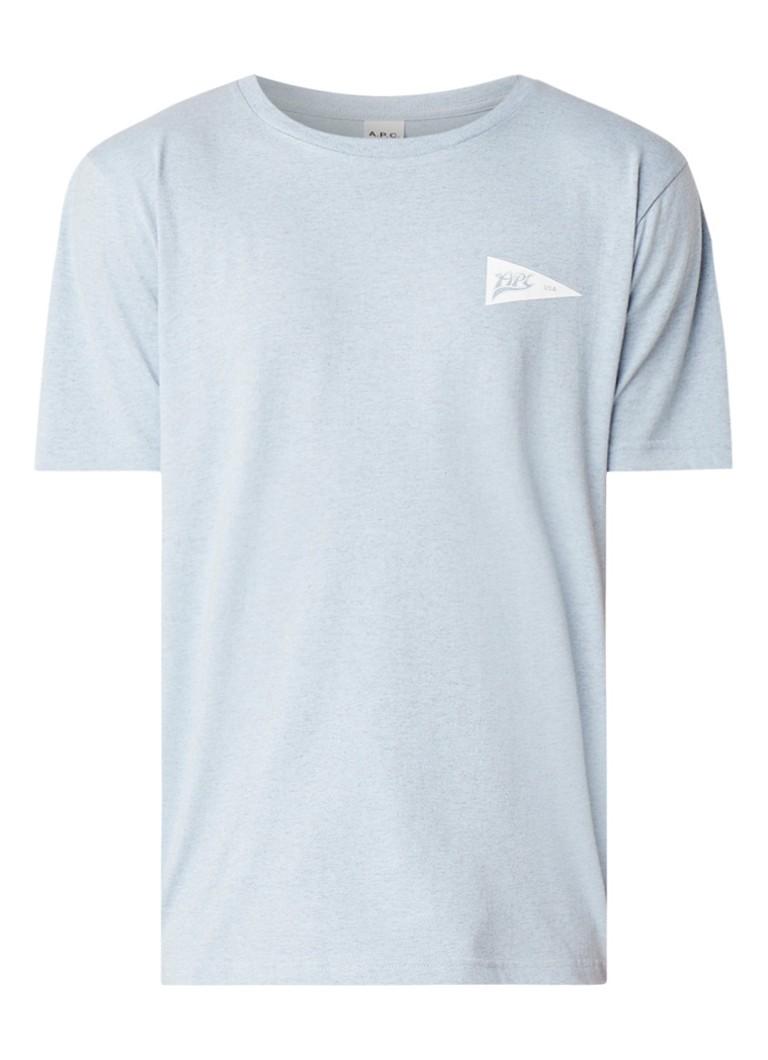 A.P.C. Barrington T-shirt met logoprint