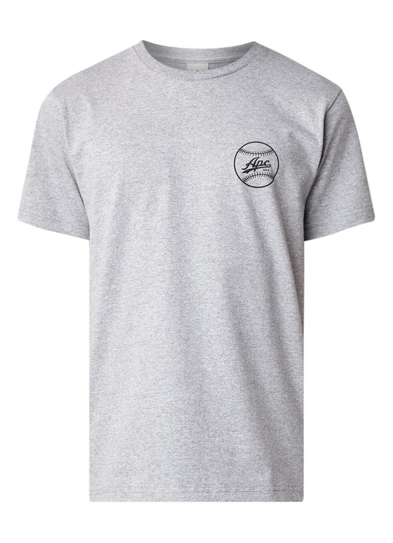 A.P.C. Arrol T-shirt met logoprint