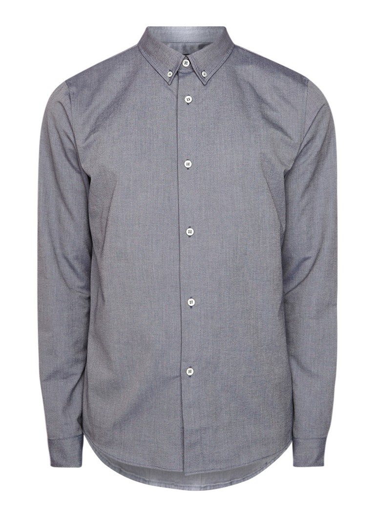 Image of A.P.C. Regular fit overhemd met button down-kraag