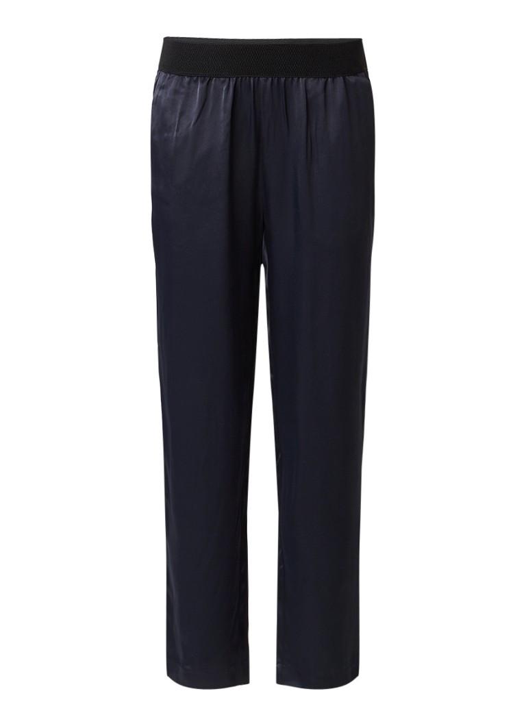 Sissy-Boy Bienna gladgeweven pantalon met elastische tailleband