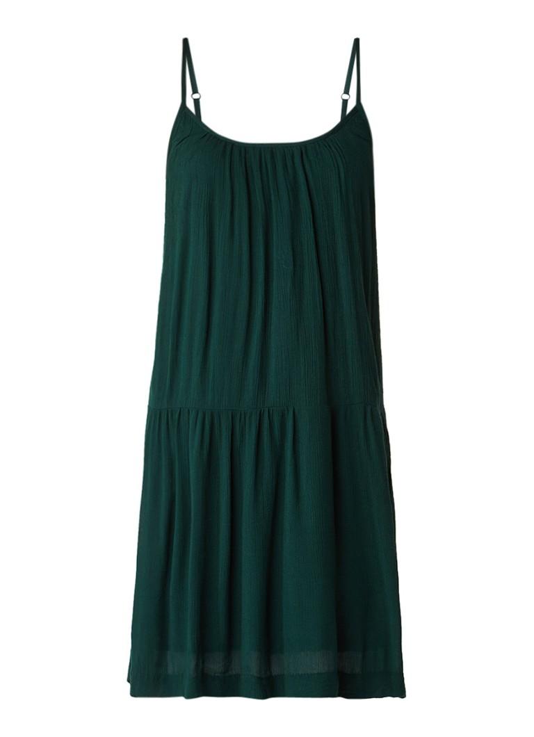 Sissy Boy Jilles mini-jurk met volant donkergroen