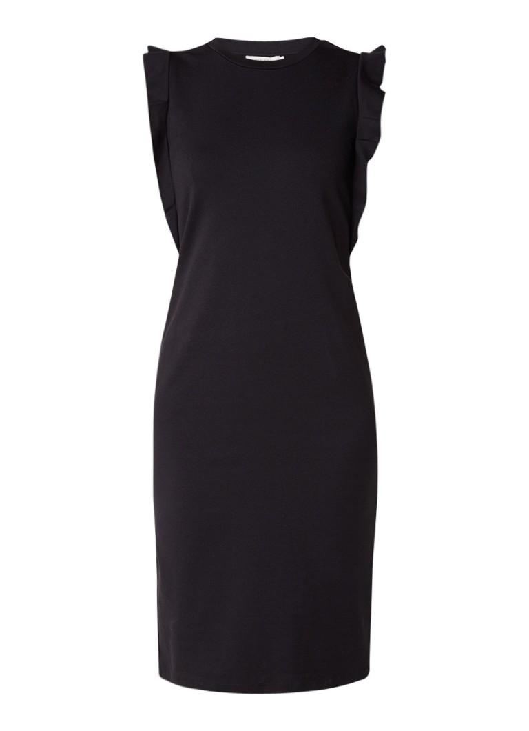 Sissy Boy Jai midi-jurk van jersey zwart