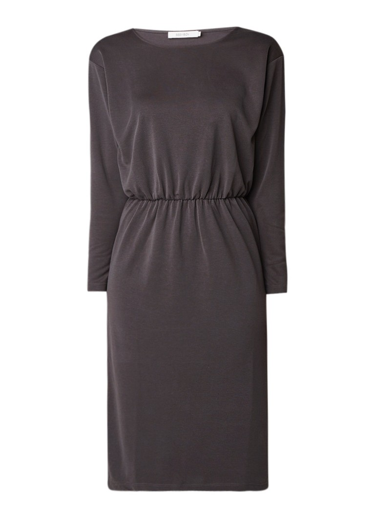 Sissy-Boy Jyla midi-jurk met elastische tailleband