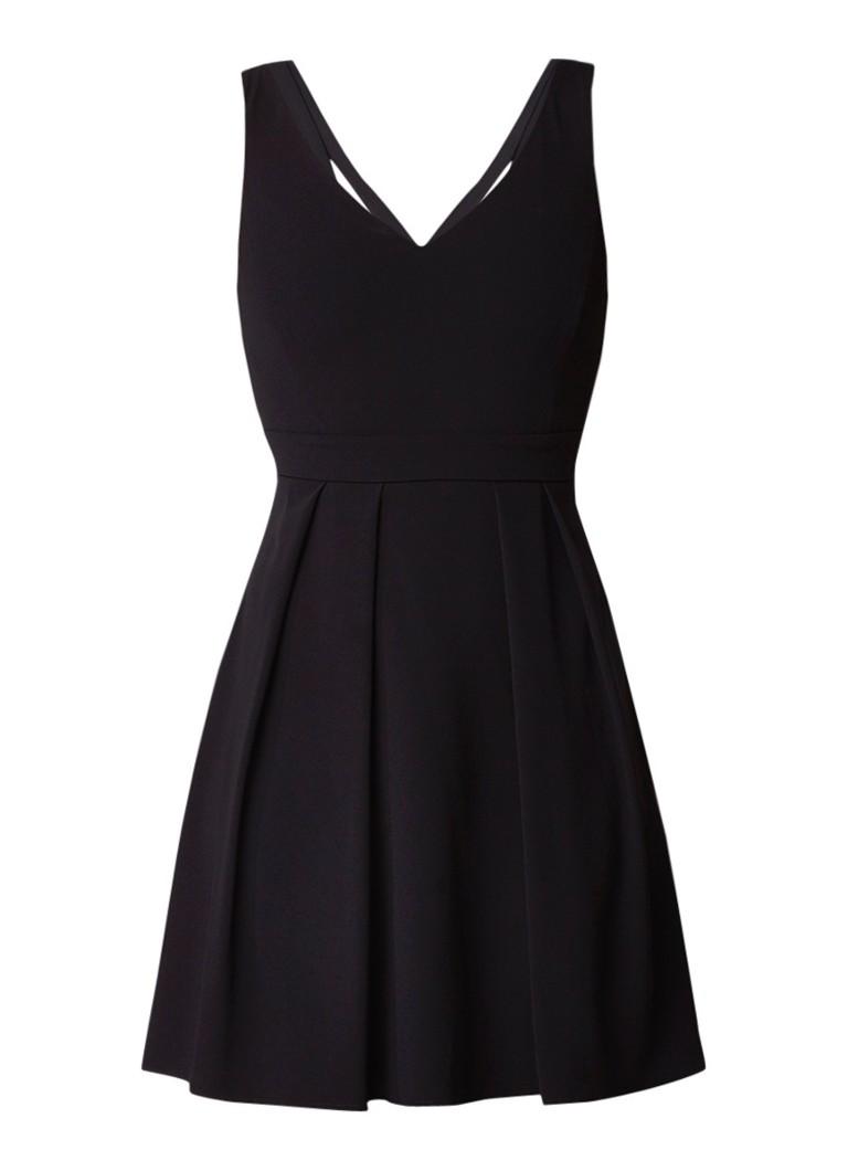 Claudie Pierlot Recontre A-lijn jurk met strik aan achterzijde rood