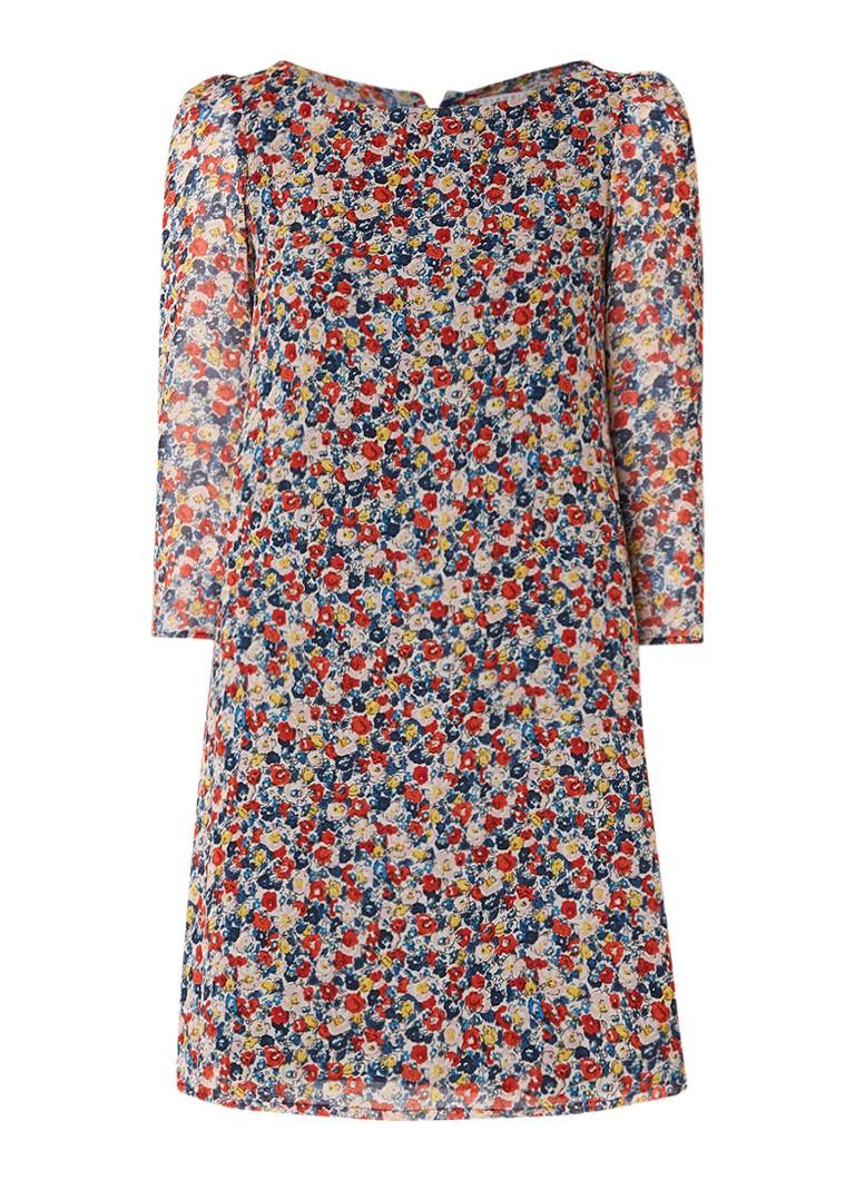 Claudie Pierlot Rififi tuniekjurk met bloemendessin multicolor