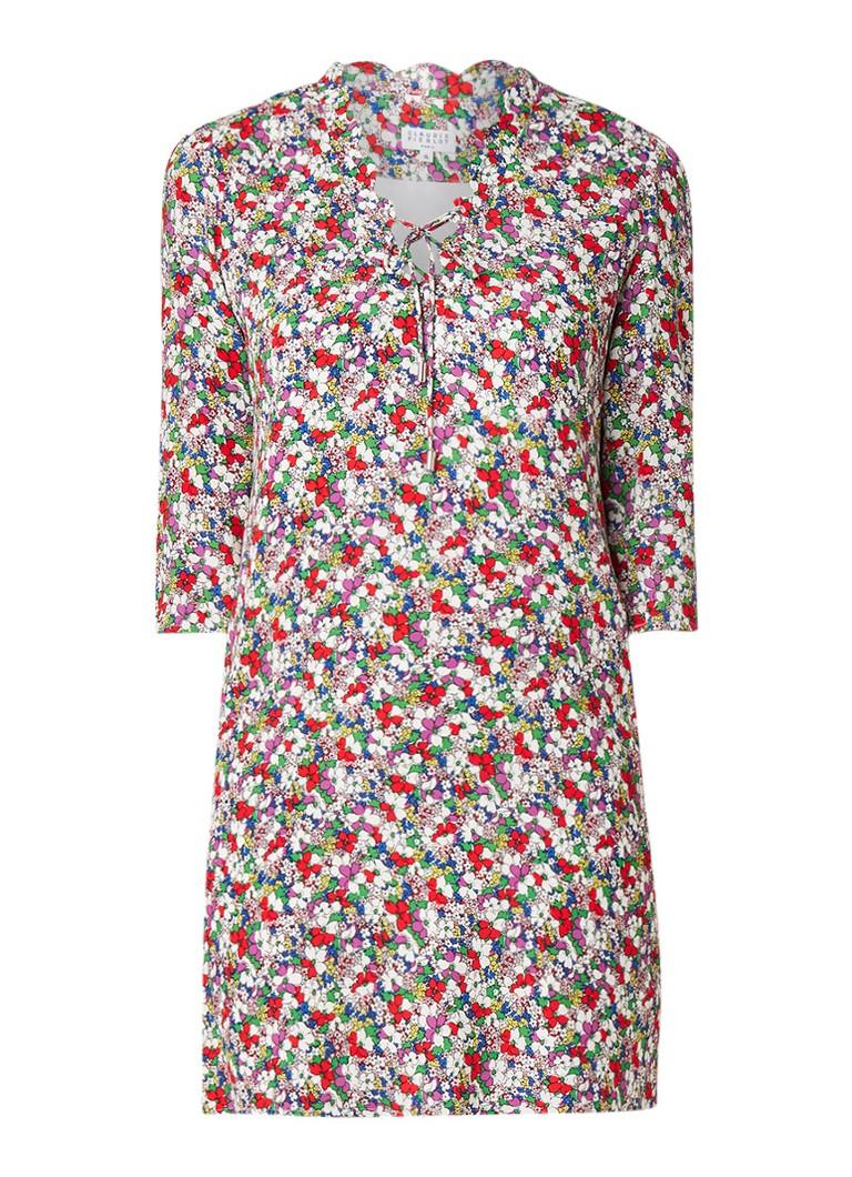 Claudie Pierlot Renzi mini-jurk met bloemendessin multicolor