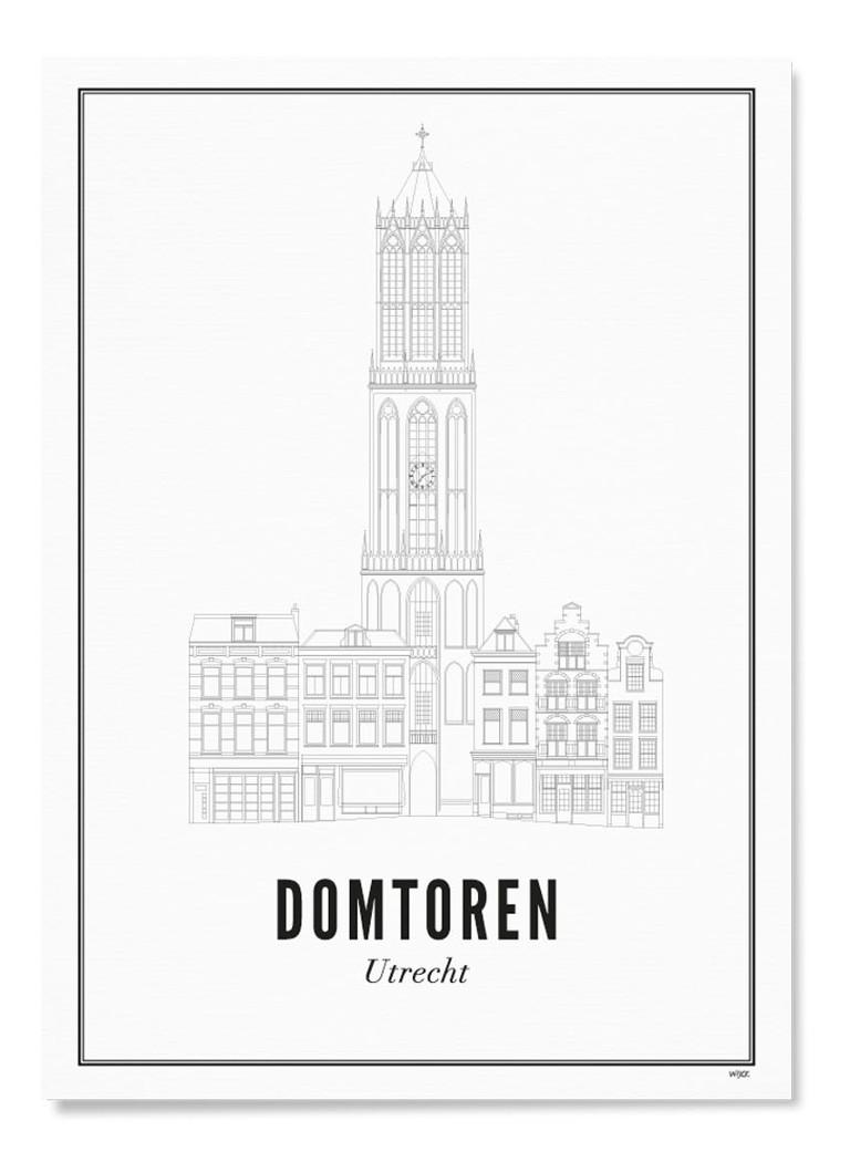 WIJCK. Utrecht Domtoren print
