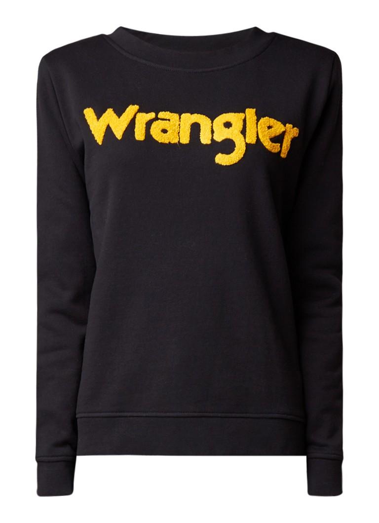 Wrangler Sweater met logo