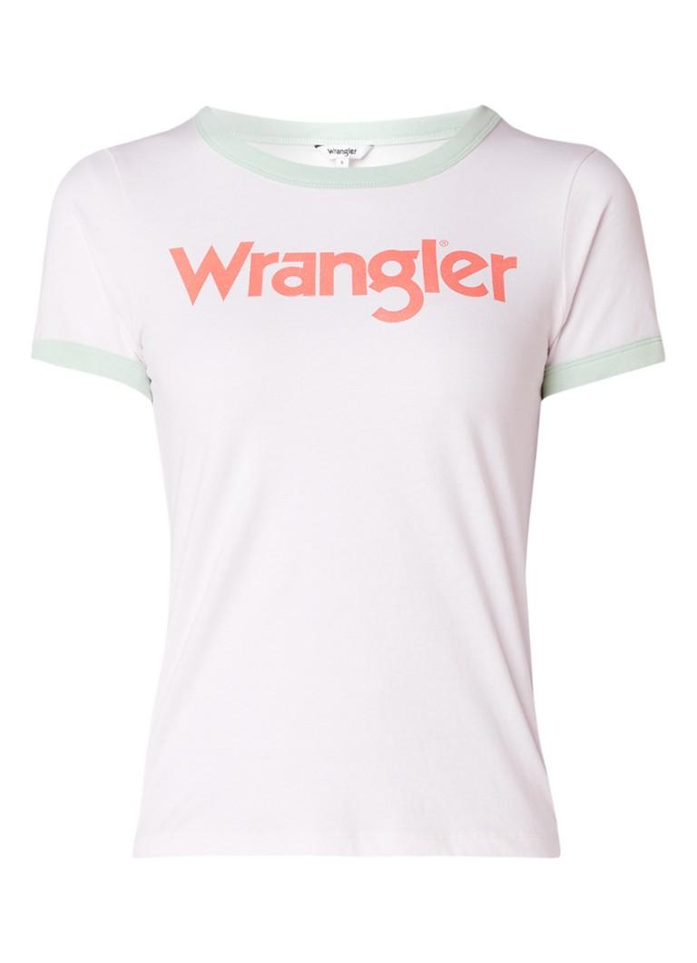 Wrangler Retro T-shirt met logoprint