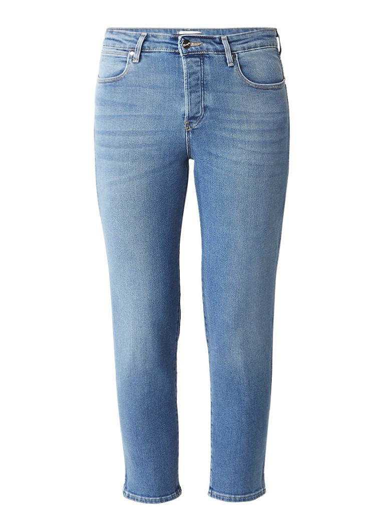 Wrangler High rise cropped straight fit jeans