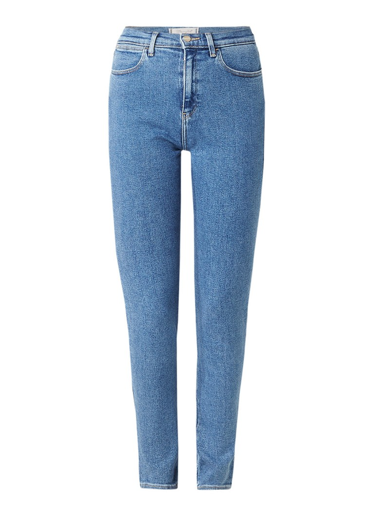 Wrangler Body Bespoke high rise skinny jeans met gebleekte wassing