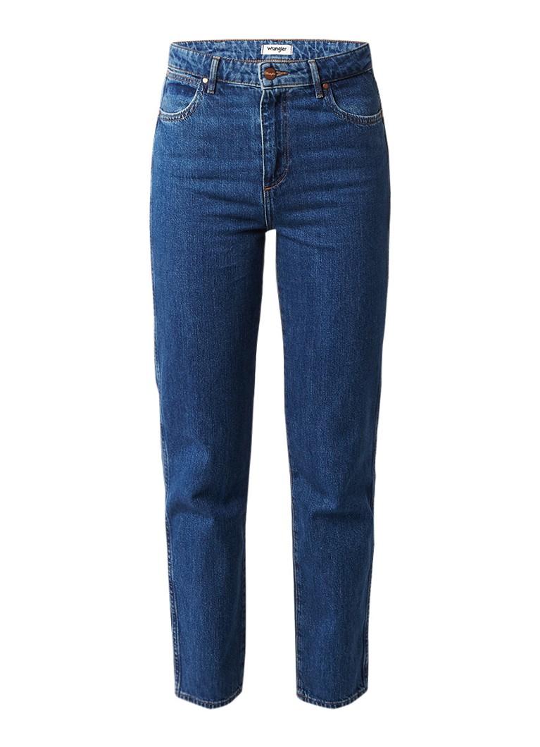 Wrangler Retro mid rise slim fit jeans met medium wassing