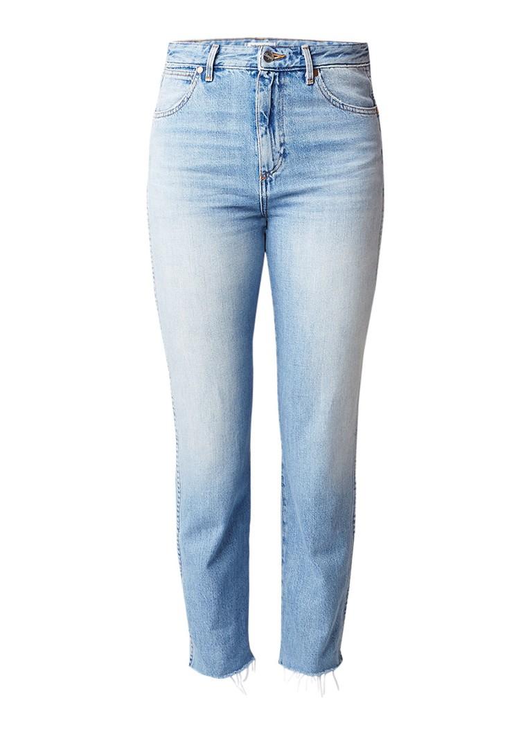 Wrangler Retro slim fiji high rise slim fit jeans met lichte wassing