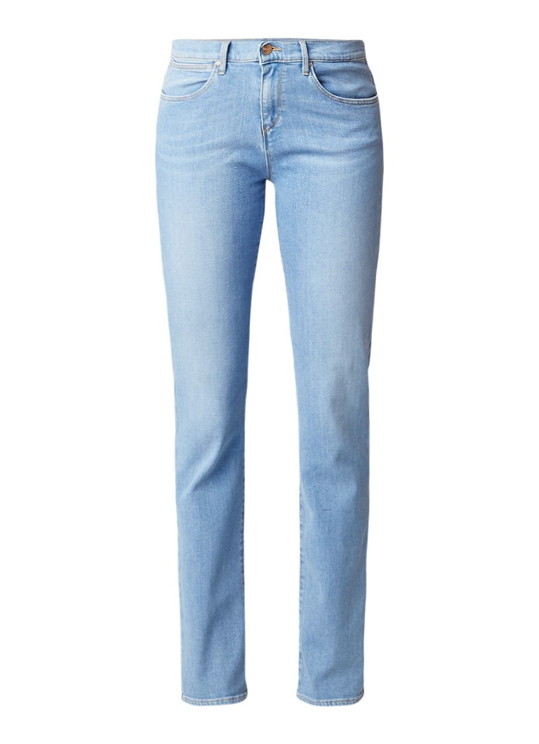 Wrangler Body besproke high rise slim fit jeans fresh breeze