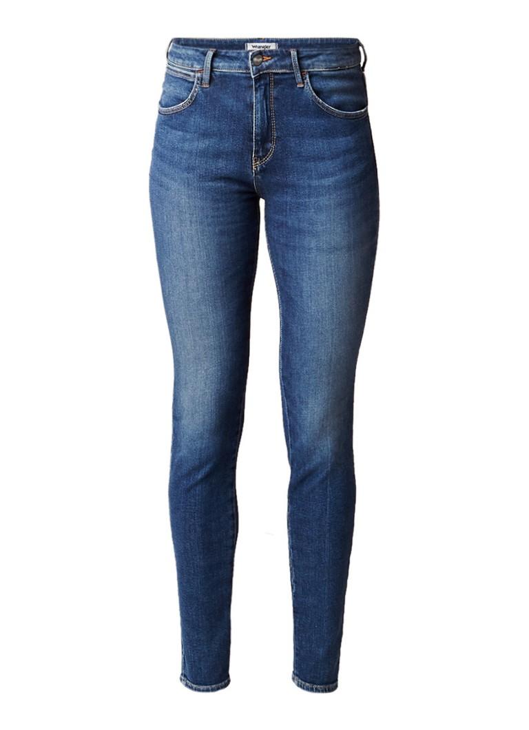 Wrangler Body bespoke mid rise skinny fit jeans shadow light