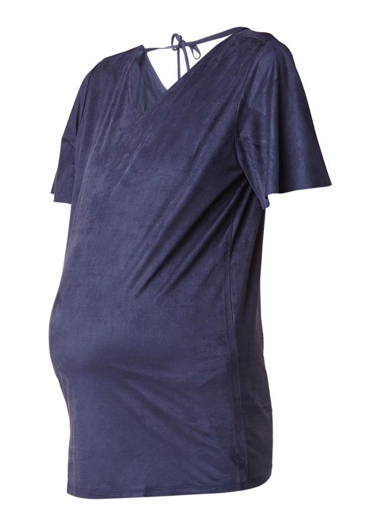 Noppies Katja T-shirt van imitatiesuede