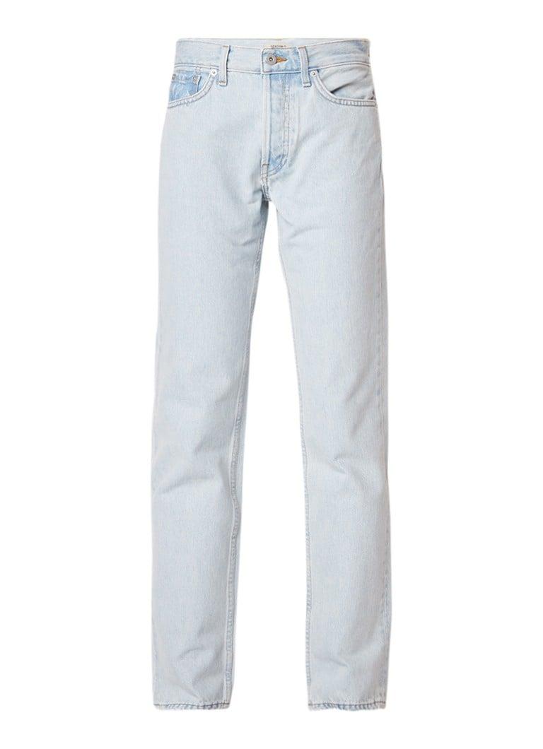 Yeezy Mom jeans met gebleekte finish