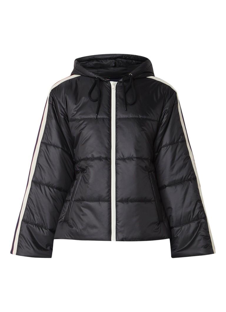 Gucci Puffer jacket met capuchon