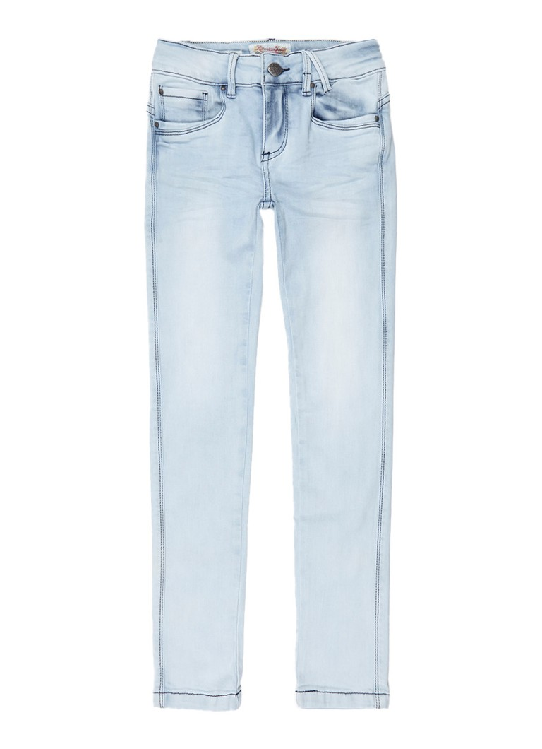 America Today Emily slim fit jeans met lichte wassing
