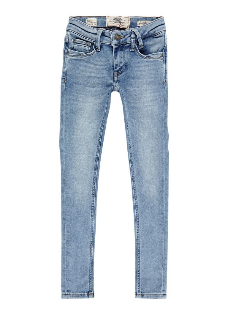 America Today Kate super skinny fit jeans met lichte wassing