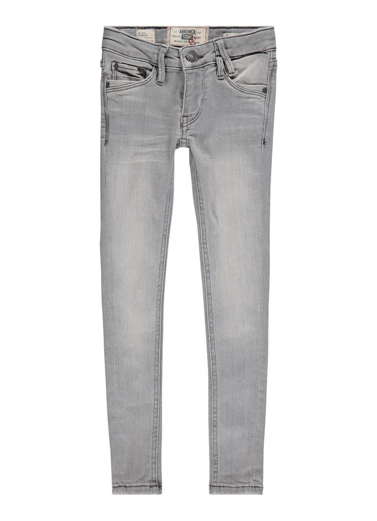 America Today Kate super skinny jeans met faded look